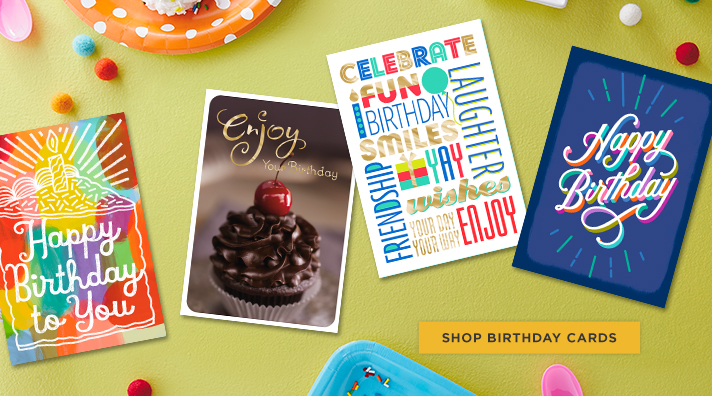 See what's new - Hallmark birthday cards for your business.