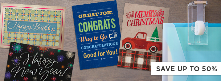 Save on Hallmark business greeting cards for New Year's, Christmas, birthdays, appreciation and more