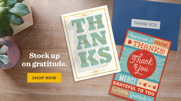 Shop Thank You cards from Hallmark Business Connections